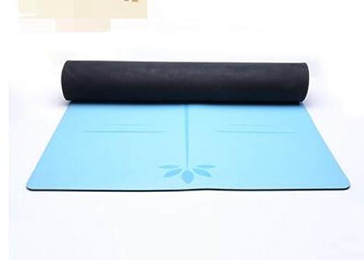 ZHANGHAOBO Alfombra De Yoga Alfombra De Goma Natural Tela ...