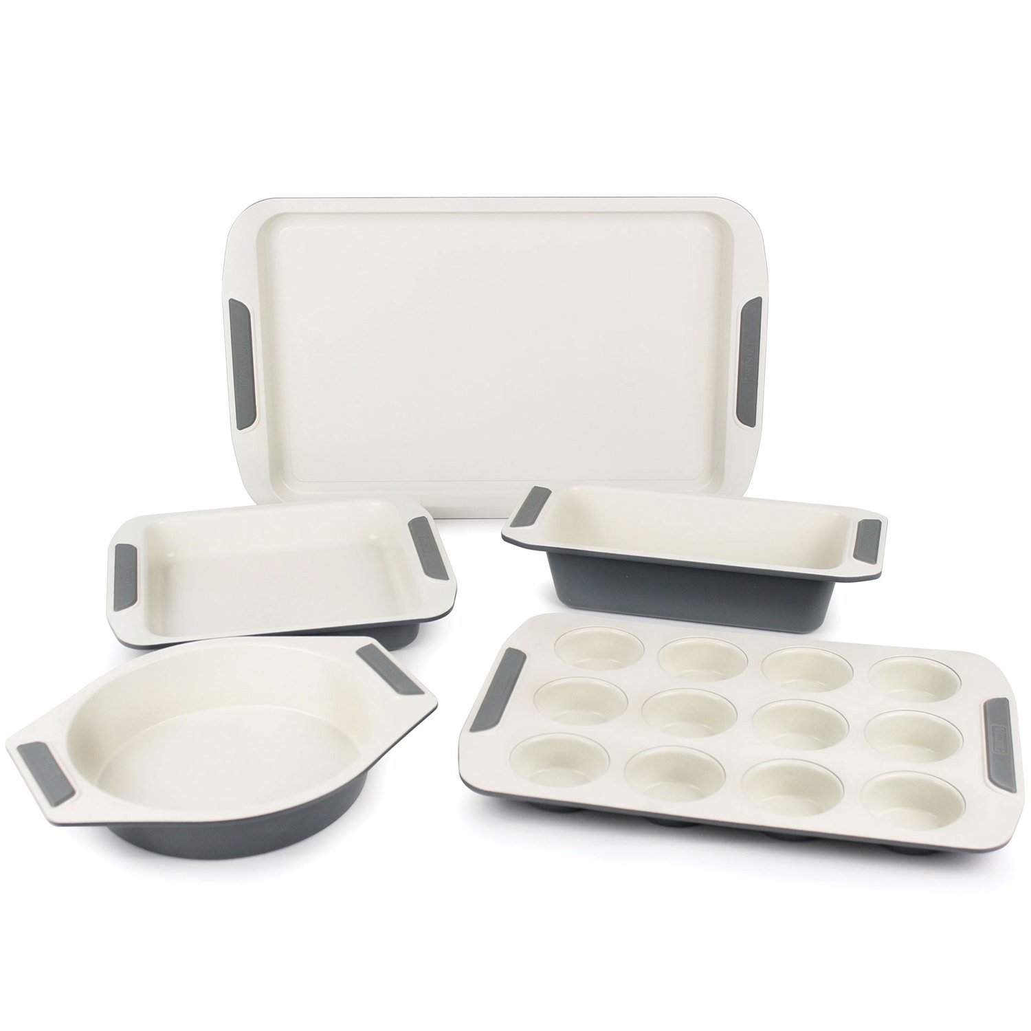 Viking Ceramic Nonstick Bakeware Set, 5-piece