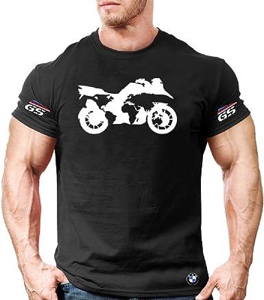 Camiseta Camisa T-Shirt tee Deportiva Hombre BMW MPower Motorrad R1200 GS Team Italia Motorsport Tuning Coche Moto Auto TSN.18: Amazon.es: Ropa y accesorios