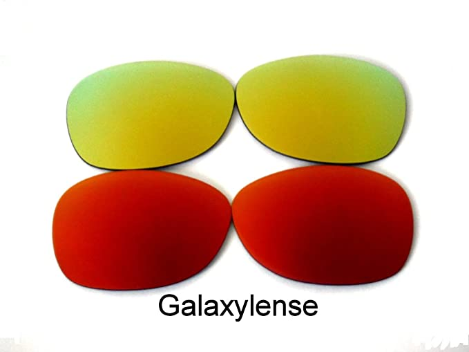 41dca8053e Amazon.com  Replacement Lenses For Ray-Ban RB2132 New Wayfarer Red Gold 55  mm 2Pairs  Clothing