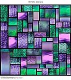 Windowpix WF109-36x72 36x72 Decorative Static Cling Window Film