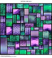 """WindowPix WF109-12x48 12x48"""" Decorative Static Cling Window Film"""