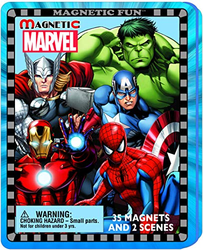 Magnetic Fun Travel Tin: Marvel Super Heroes ()