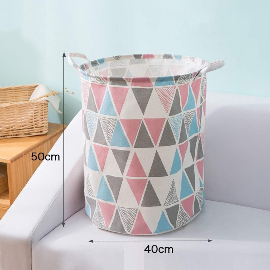 Tianyou Panier à linge sale de salle de bain Panier à linge en tissu pliable pour jouets Jaune