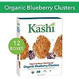 Kashi 早餐麦片 蓝莓果实 规格 134 盎司(约 3.8 千克)(10包 每盒 13.4 盎司(约 380 克))