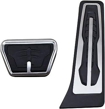 AutoBig Gas Brake Pedal Cover Set for BMW X3 X4 X5 X6 2 3 4 5 6 7 Series G20 F30 G30 G11 G01 G02 G05 F15 F16 F22 F25