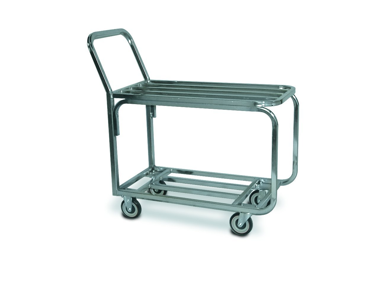 Lockwood SKP-36-AL Aluminum Grocery Produce Stock Truck with Plate Casters, 1000 lbs Capacity, 36'' Width x 42'' Height x 18-1/2'' Depth, Small by Lockwood