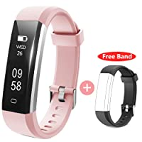 Fitness Tracker Watch, HolyHigh Smart Fitness Tracker Band for Men Women Kids Unisex Sports Activity Tracker Watch with Step Counter Calories Burned Sleep Monitor SMS Notification