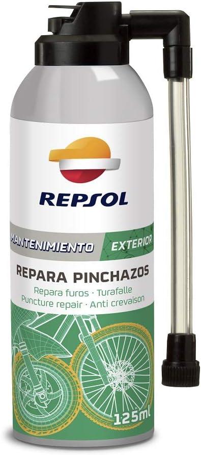 Repsol RP708D88 Repara Pinchazos Spray, 125 ml: Amazon.es: Coche y ...