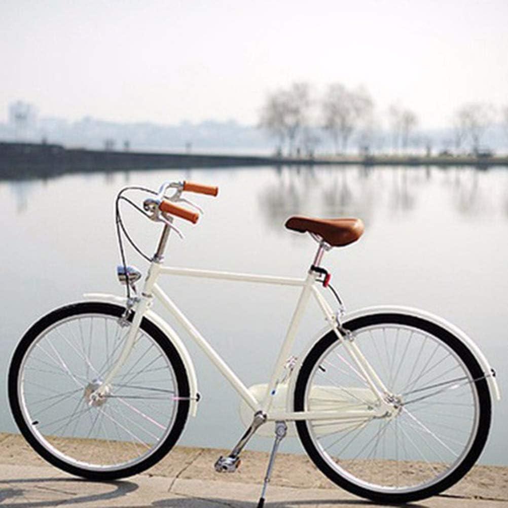 Fahrradbeleuchtung Super Bright Fahrrad Lampe Fahrrad Frontscheinwerfer mit Visier Calayu Vintage Fahrradlicht LED