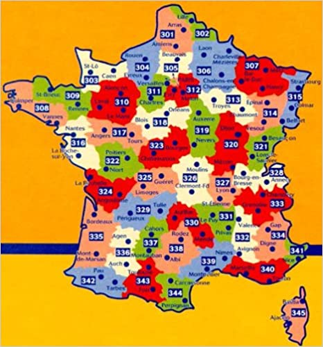 Michelin Local Map Number 341 AlpesMaritimes Cannes Nice