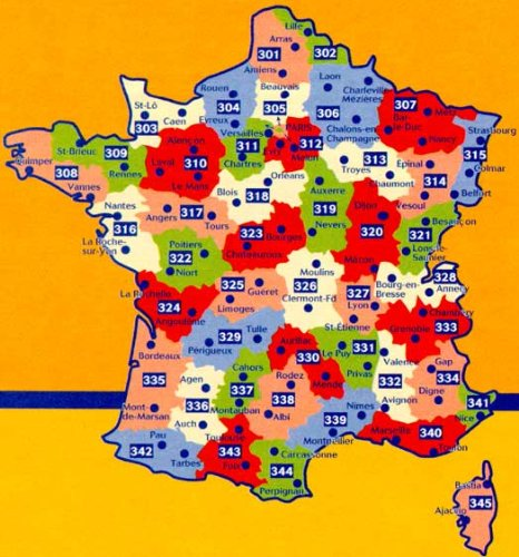 Map Of France Vendee.Michelin Local Map No 316 Loire Atlantique Vendee France