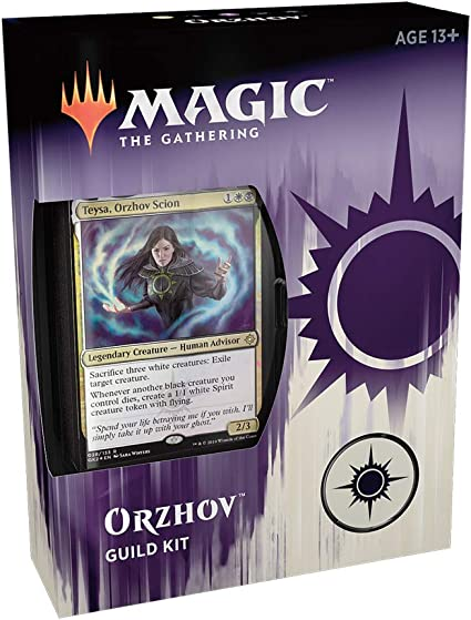 Amazon Com Magic The Gathering Ravnica Allegiance Guild Kit Orzhov Toys Games The gathering, dungeons & dragons, warhammer. magic the gathering ravnica allegiance guild kit orzhov