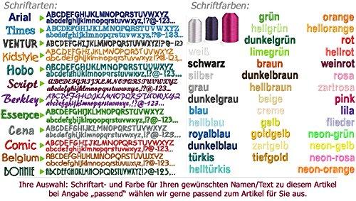GiO-Shop * Sonderanfertigung mit Stickerei Notizbuch mit Filz ...
