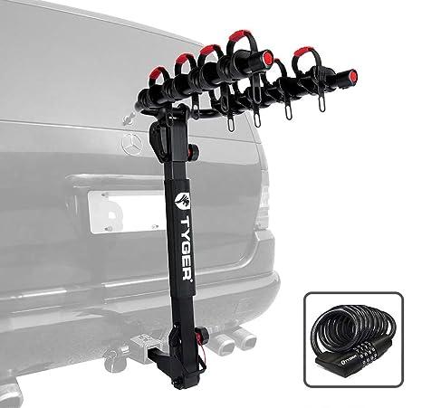 Amazon.com: Tyger Deluxe portabicicletas para 4 bicicletas ...