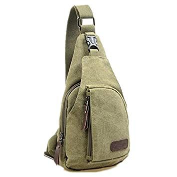 Amazon.com : Kalevel Cool Outdoor Sports Casual Canvas Unbalance ...