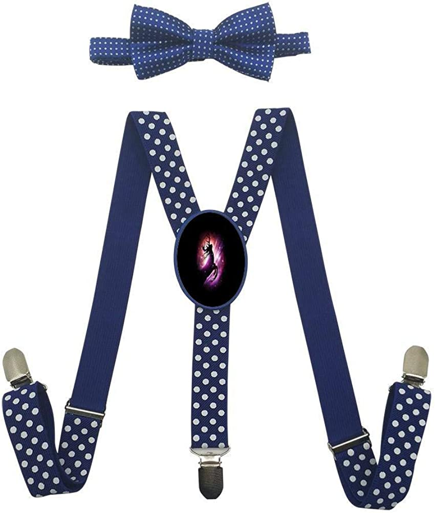A Leaping Deer Childrens Fashion Adjustable Y-Type Suspension Belt Suit