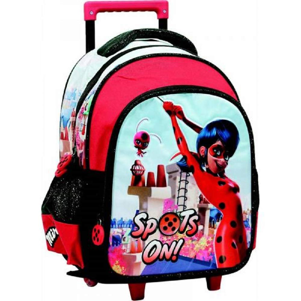 Trolley MIRACULOUS LADYBUG Sac a Dos a roulettes 31 cm