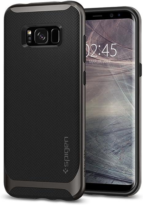 Funda Galaxy S8 Plus, SPIGEN® [Neo Hybrid] Protección interna ...