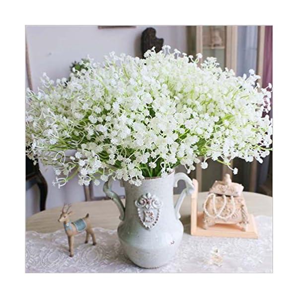 JinHot-Fashion-10-Pcs-White-Gypsophila-Artificial-Fake-Beautiful-Flower-Home-Party-Wedding-Decor-Flowers-White