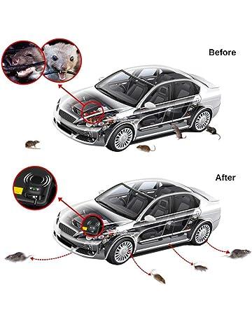 Balight El Repelente de ratón Repelente de ratón ultrasónico Coche de Baja Potencia no tóxica Mantiene