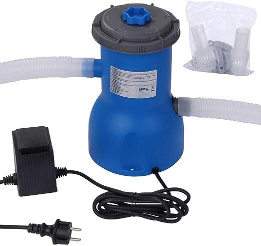 Blueborn - Bomba de Filtro para Piscina, Polipropileno, 2006 L/h ...