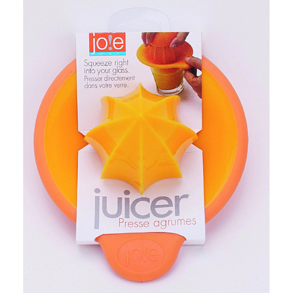 Joie Orange Juicer, BPA Free and FDA Approved, 2-Inches x 2-Inches x 7-Inches