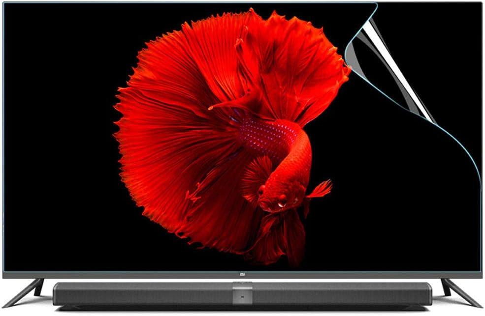 YSHCA 55-60 Pulgadas Protector De Pantalla De TV, Anti Luz Azul TV Protección de Pantalla Antirreflejos Filtro De Luz Alivia La Fatiga Ocular, para HDTV LCD/LED/OLED,55Inch/ 1221x689mm: Amazon.es: Hogar