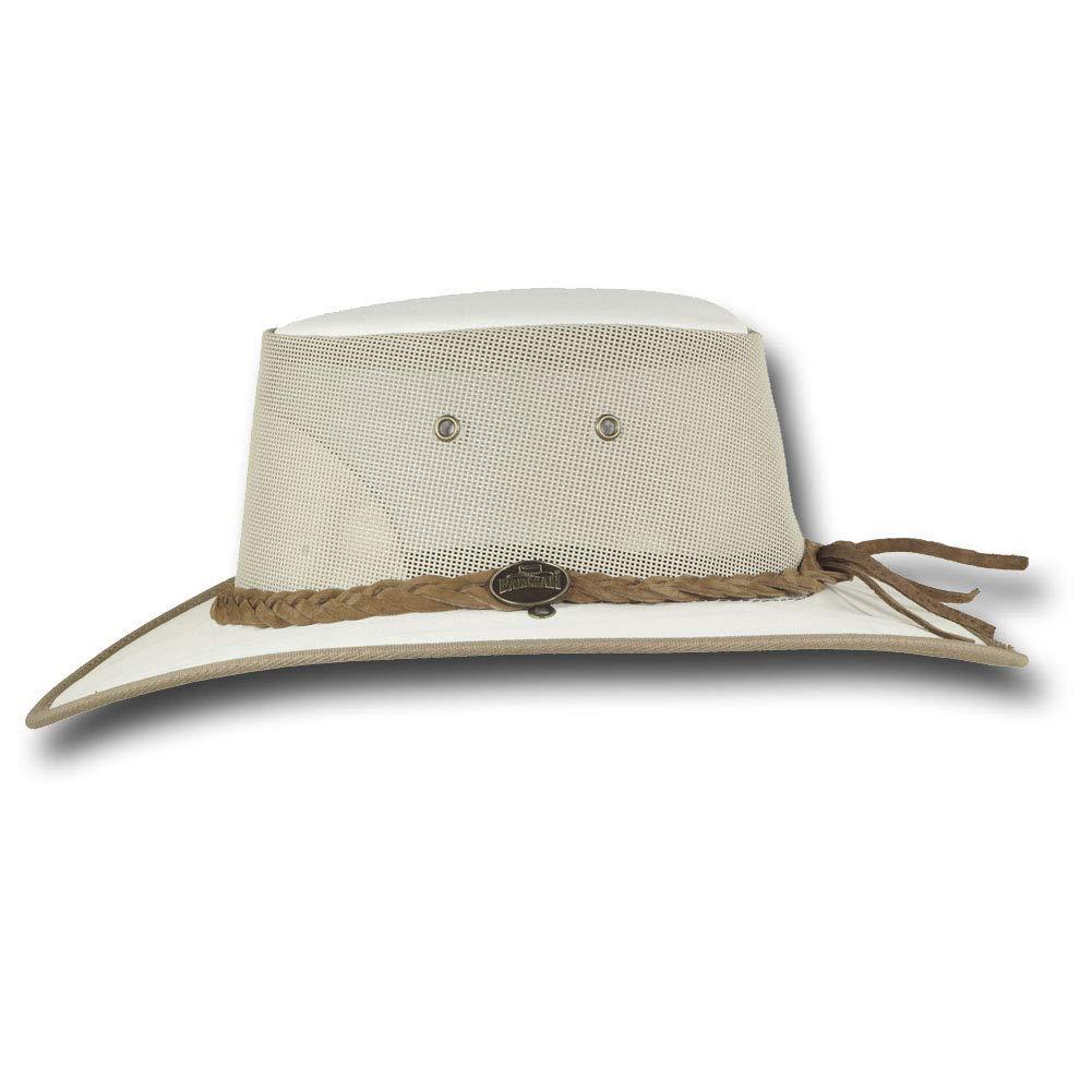 Barmah Hats Canvas Drover Hat Item 1057