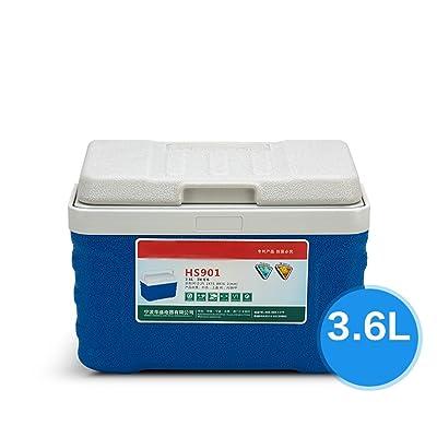 En plein air Isolation Box Refroidisseur Intérieur Voiture Borne Portable Glace Sac Pour La Pêche De Pique-Nique Retain Fraîcheur Seau à Glace Avec Thermomètre