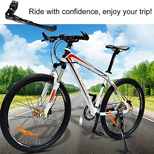 BIGO Bicycle Kickstand Adjustable Aluminium Alloy Bike Height Rear Kick Stand for Bike 22'' 24'' 26'' 27'' by BIGO (Image #6)