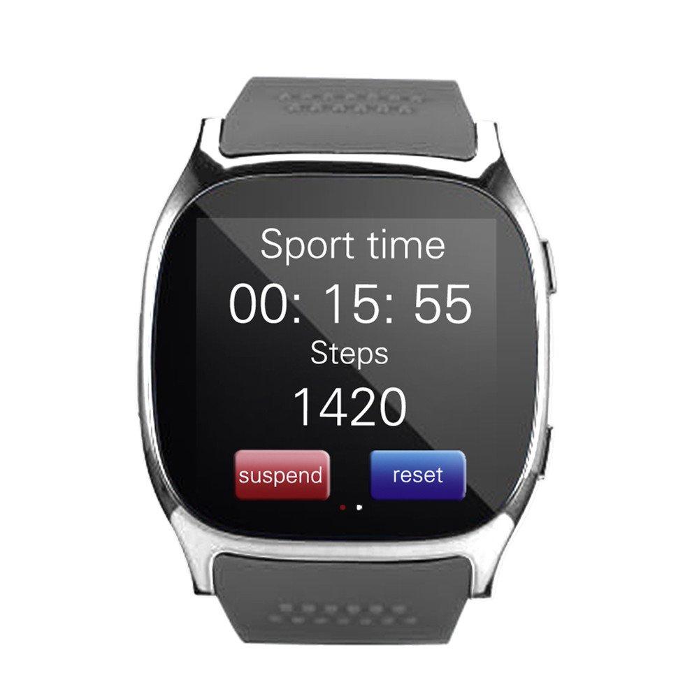 DXABLET Bluetooth Smart Watch reloj de pulsera con cámara Reproductor de música