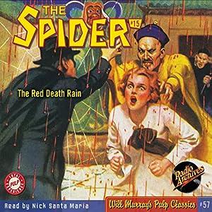 Spider #15, December 1934 Radio/TV Program
