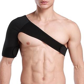 GOGO Support d'épaule Brace SBR épaule Band, Rotator Brassard Support pour prévention des blessures, Soulagement de la Douleur