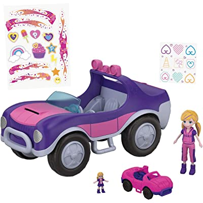Polly Pocket Adventure S.U.V. (Secret Utility Vehicle): Toys & Games