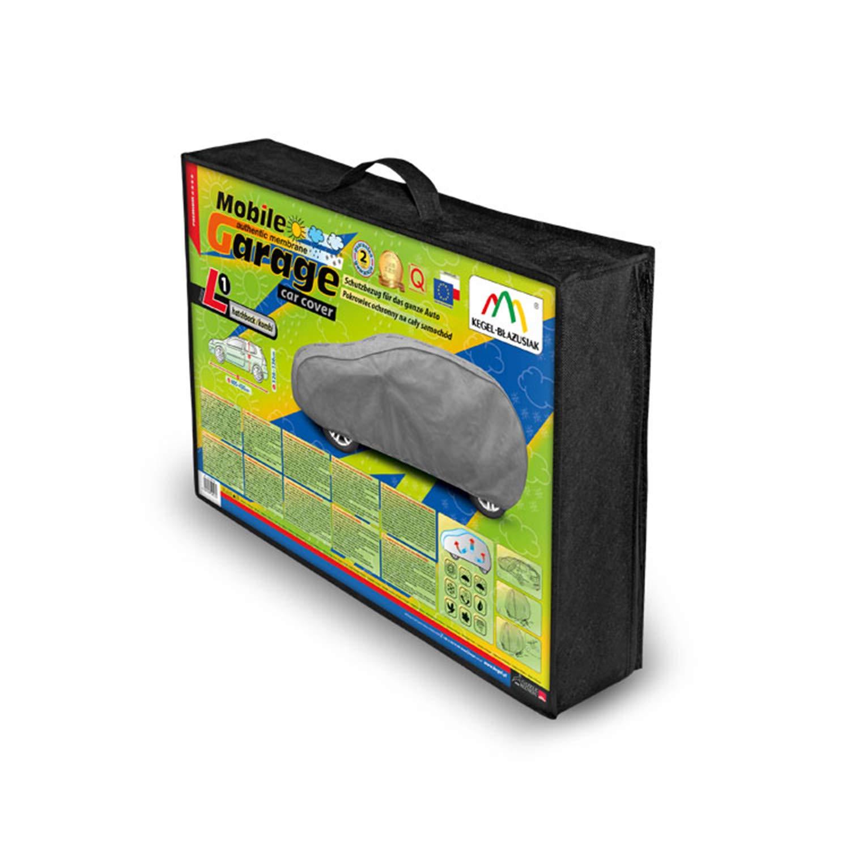 Respirante Gris Protection UV Fine Protection Solaire 405-430 cm Protection Contre la gr/êle Saferide B/âche de Voiture pour Voiture Ext/érieur Hiver