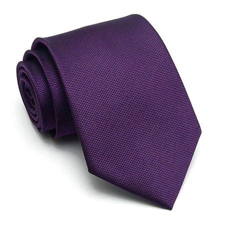 WZXSMDY - 3 Corbata de 8 cm para Hombre de Negocios, Corbata de ...