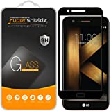 [2-Pack] Supershieldz for LG K20 V / K20V (Verizon) Tempered Glass Screen Protector, [Full Screen Coverage] Anti-Scratch, Bubble Free, Lifetime Replacement Warranty (Black)