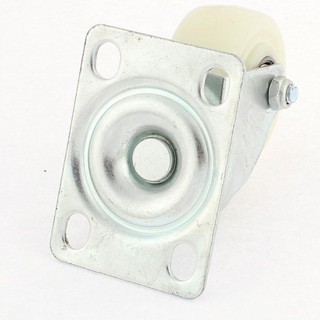 eDealMax 50mm Dia Base de plástico de la placa Superior del cojinete giratorio Ruedas de Fundición 2 piezas: Amazon.com: Industrial & Scientific