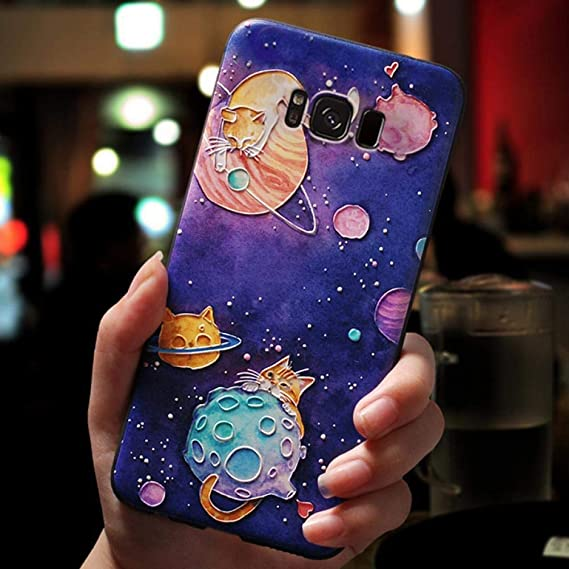 Amazon.com: 3D Cartoon Emboss Cases for Samsung Galaxy S10 ...