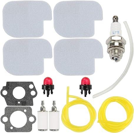 Air Filter Fuel Line Primer Bulb for Poulan P3314 P3416 P3816 ...