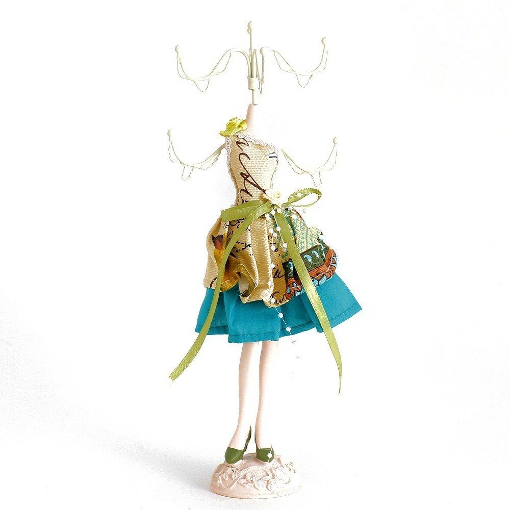 Bambola porta gioielli misto vestito multicolore cod. SKU216064 Présentoirs pour bijoux