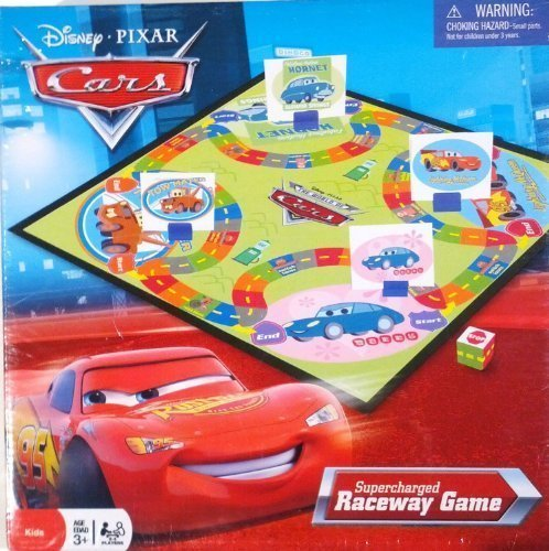 Disney Pixar Cars Supercharged Raceway Game