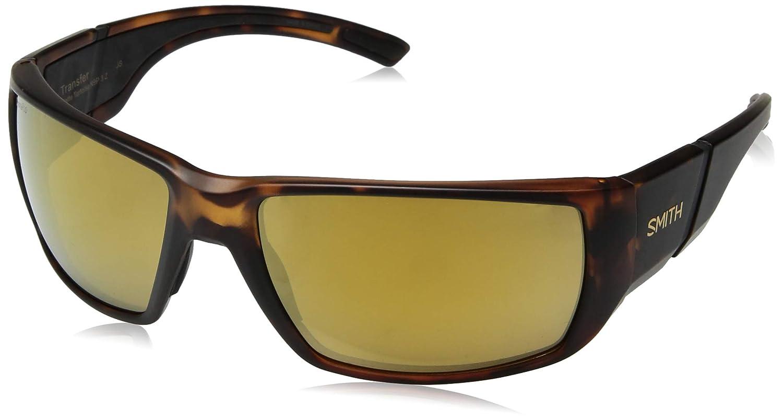Smith Transfer ChromaPop Matte Tortoise Polarized Sunglasses Bronze Mirror Lens
