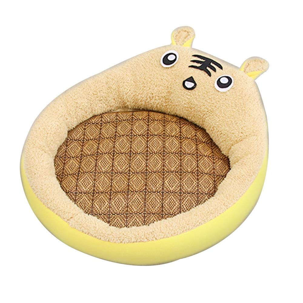 1002-L Cat Bed, Four Seasons Universal Removable Washable Pet Cat Bed Sleeping Mat Animal Mat Wo Summer Cat Supplies (color   1002-L)