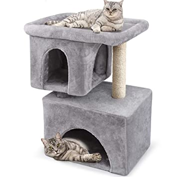 Amazon.com: Beau JarDIN - Árbol para gatos grandes, torres y ...