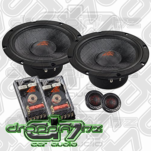 Crescendo Audio Symphony 6.5 Inch Component System 100W - 6.5 Component Inch Set
