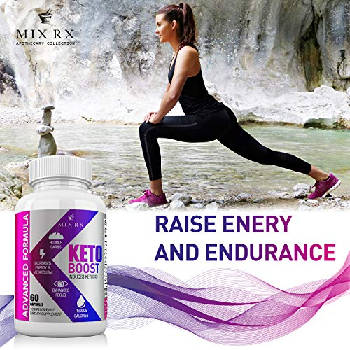 (2 Pack) Keto Diet Pills with Carb Blocker Ultra Supplement - Keto Burn w Exogenous Ketones - MCT Oil Powder - Fast Ketosis for Women Men - Advanced Metabolism Burner w BHB Salts by Mix Rx (Image #6)