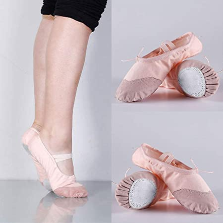 Jinxuny Zapatillas de ballet para niños Zapatillas de yoga ...