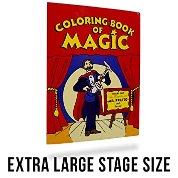 Magic Coloring Book Trick Extra Large 105 X 14